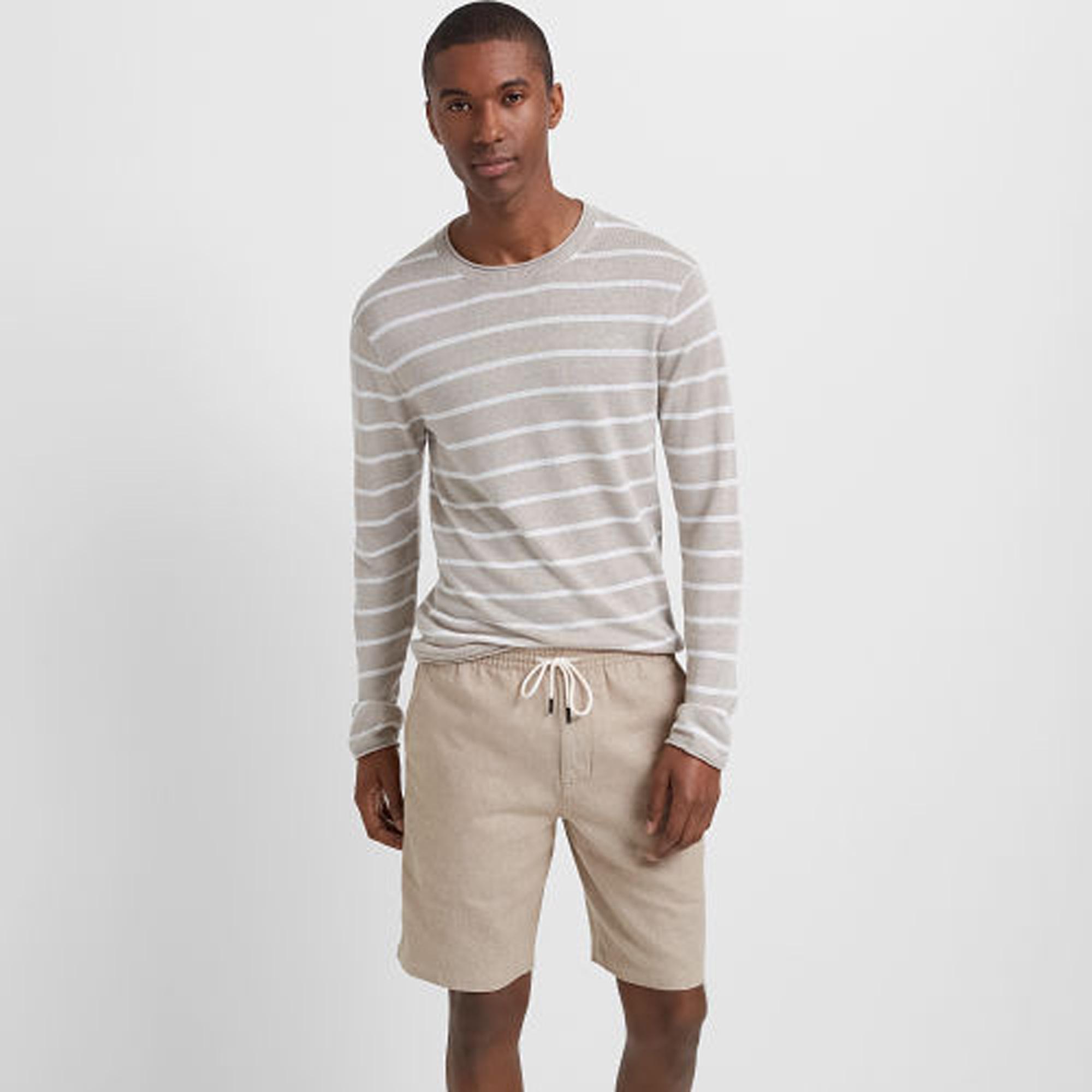 Linen Rollneck Stripe Sweater   HK$1,390