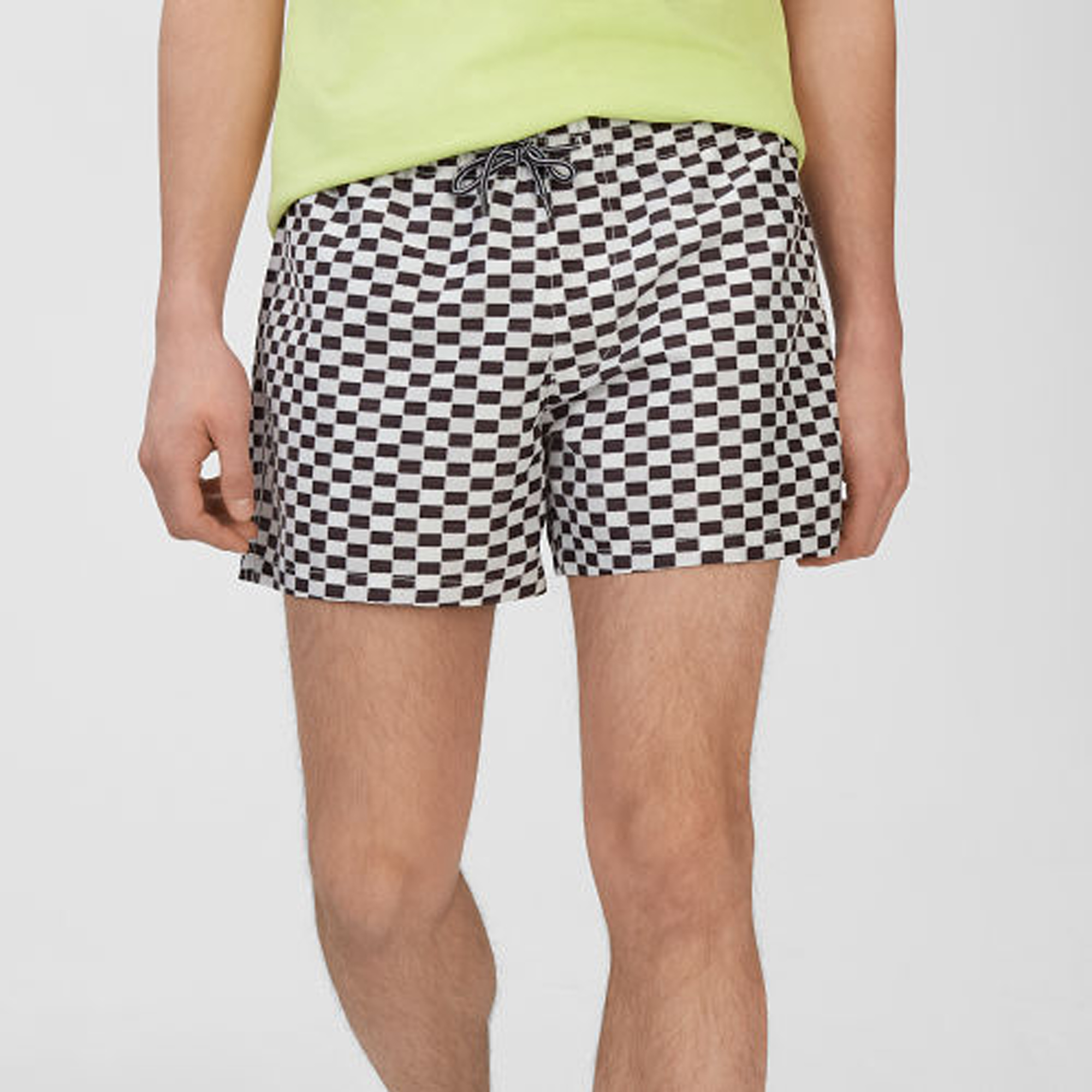 Arlen Checkerboard Swim Trunk   HK$890