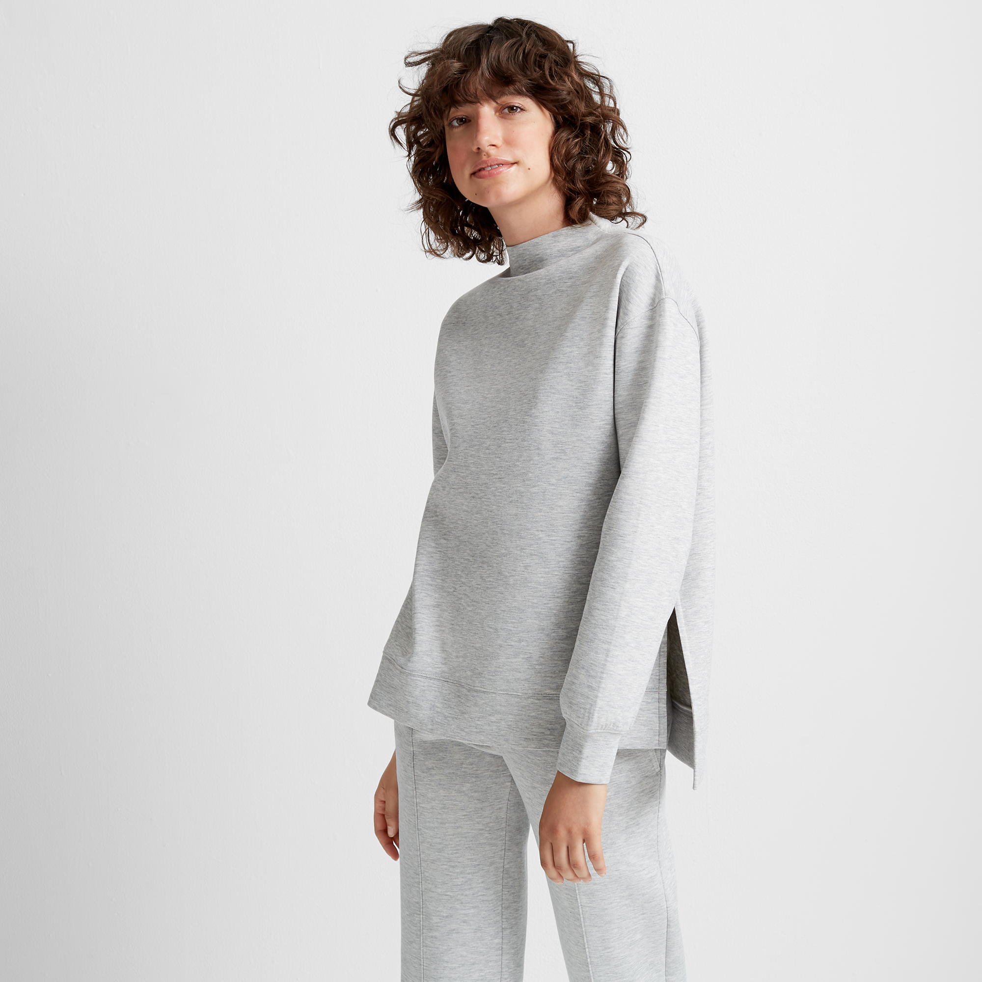 Mockneck Sweatshirt Basic Grey.jpg