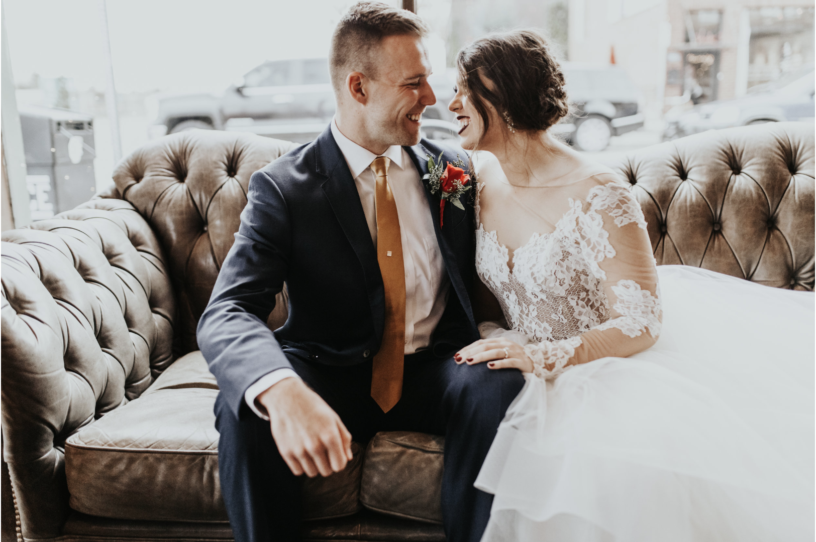 """- """"Breanna is truly amazing at what she does! She is kind, humble, professional and so much fun to have around you on your wedding day and engagement shoot! Living Roots was by far the best investment I could have for my wedding, you get everything that you pay for and more!"""""""