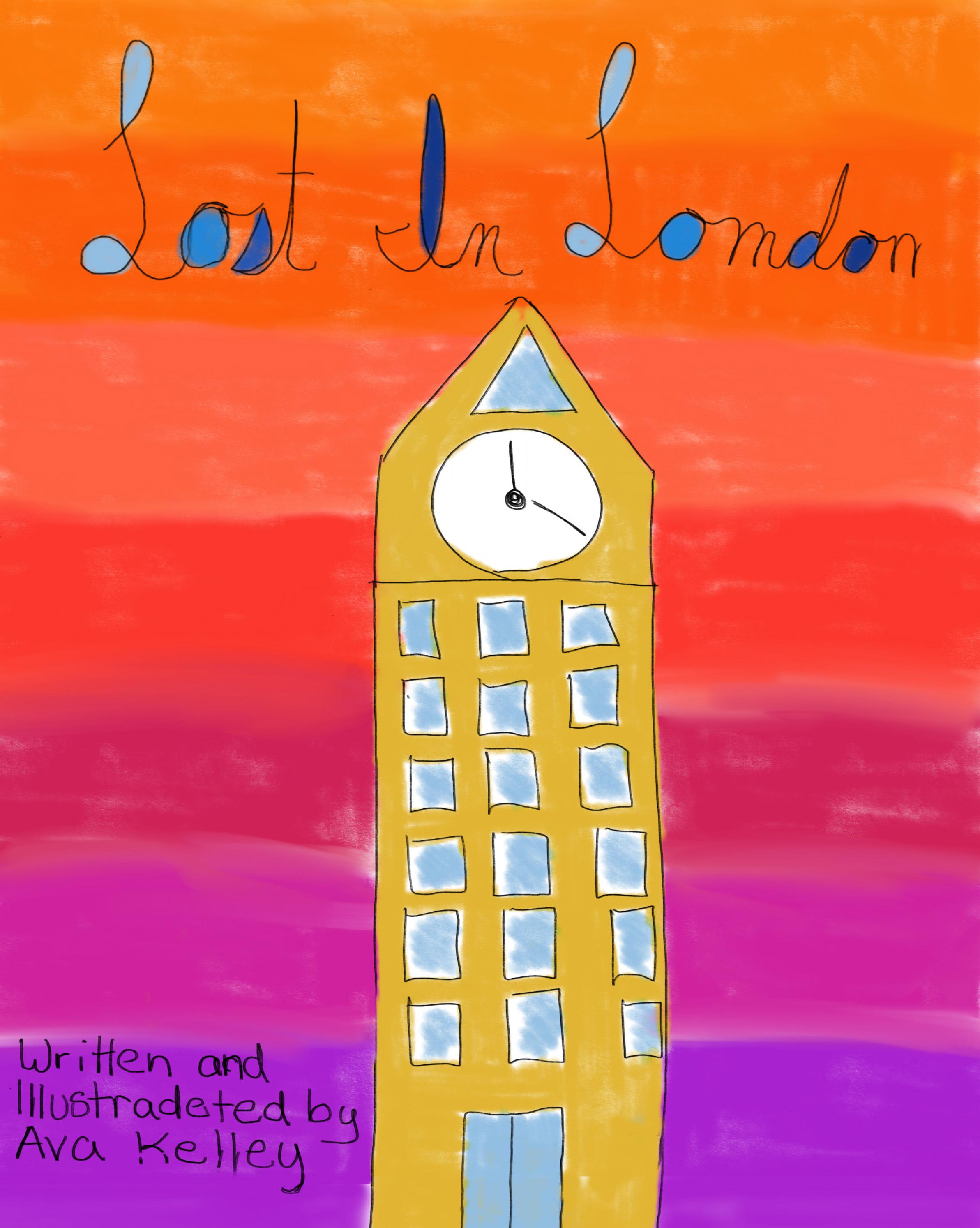 Lost in London    by Ava Kelley