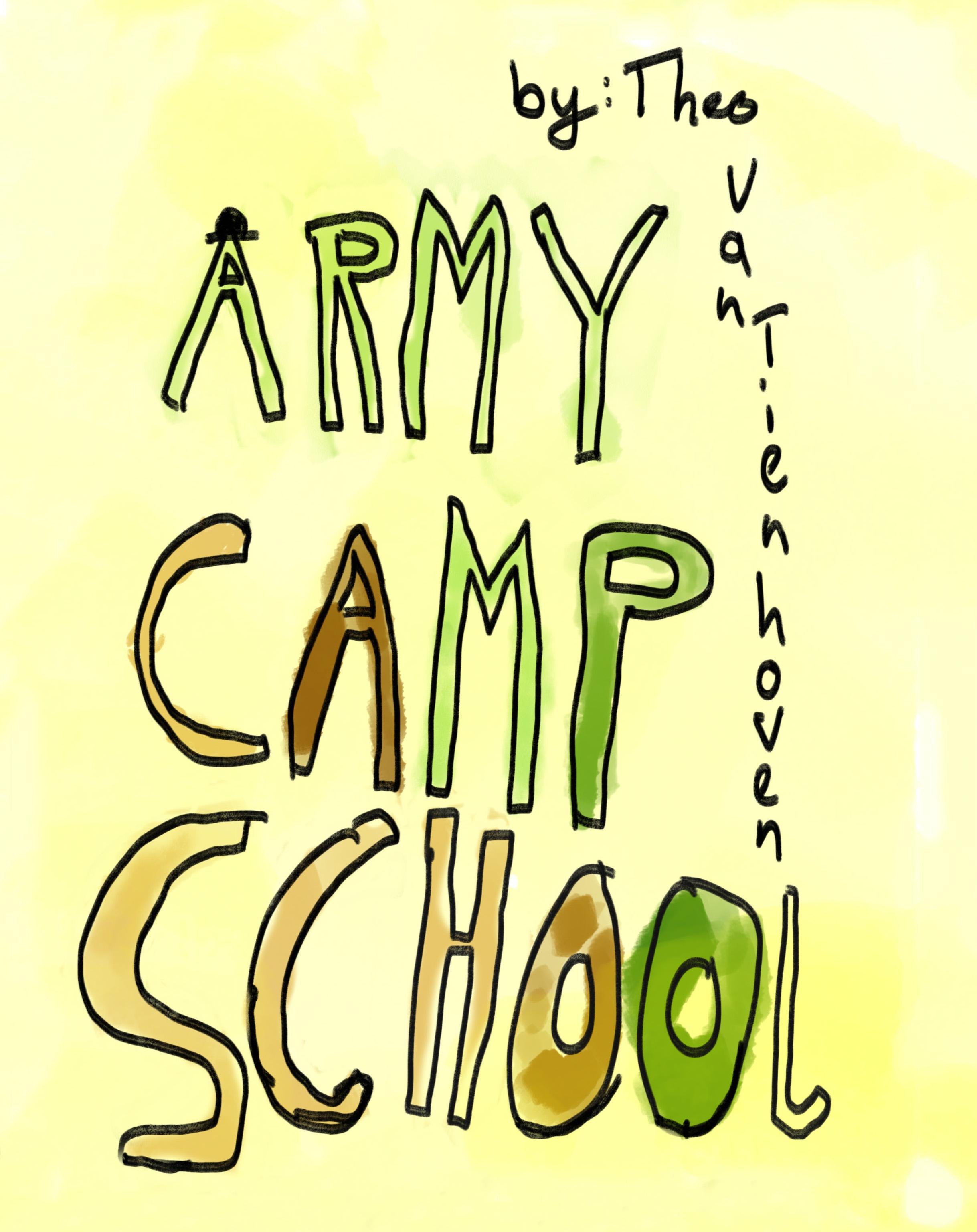 Army Camp School    by Theo Van Tienhoven