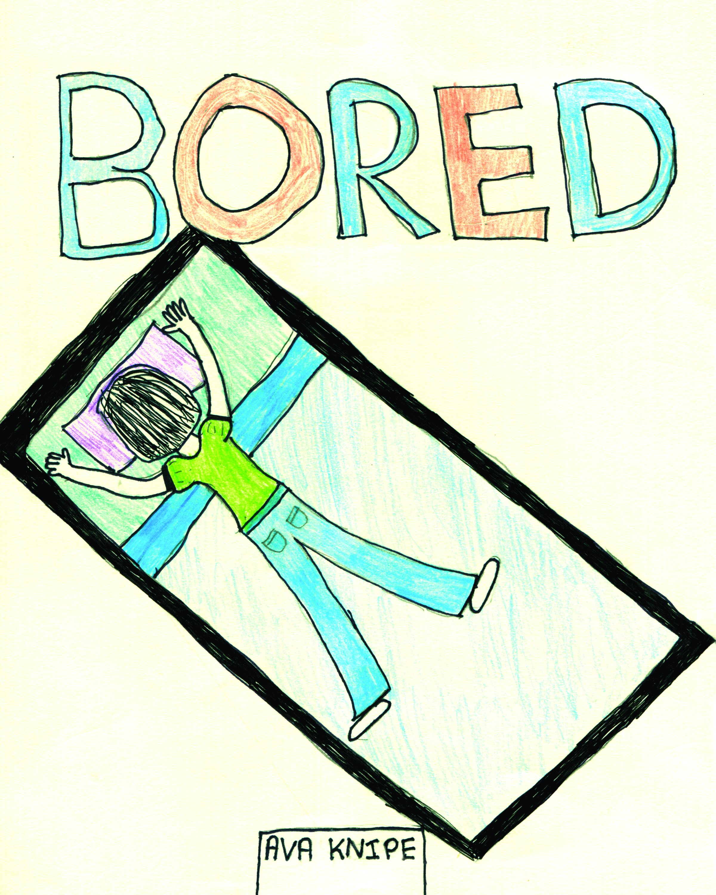 Bored    by Ava Knipe