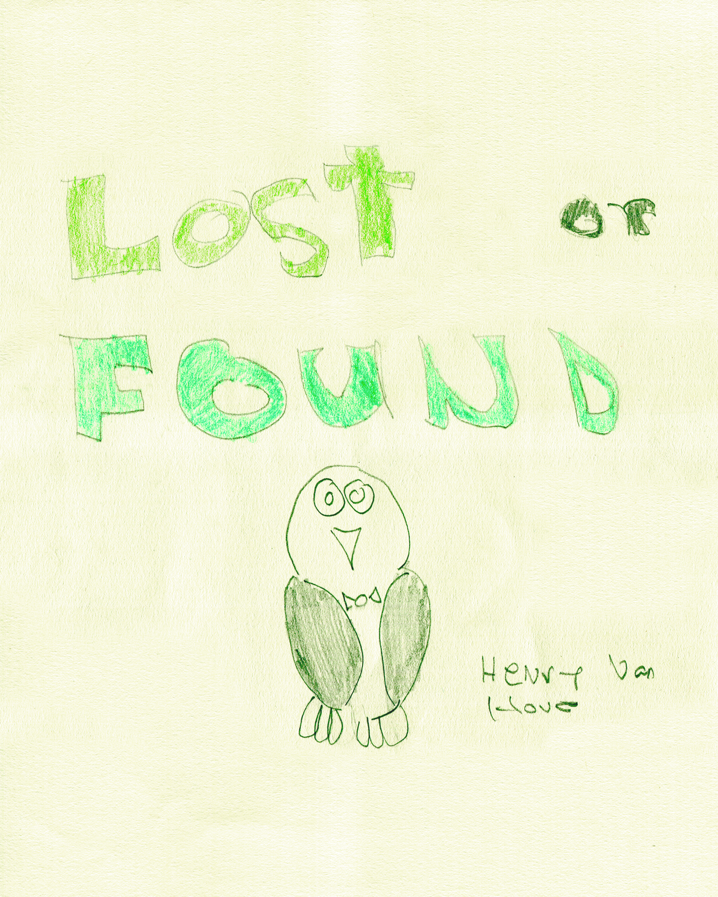Lost or Found    by Henry Van Hove