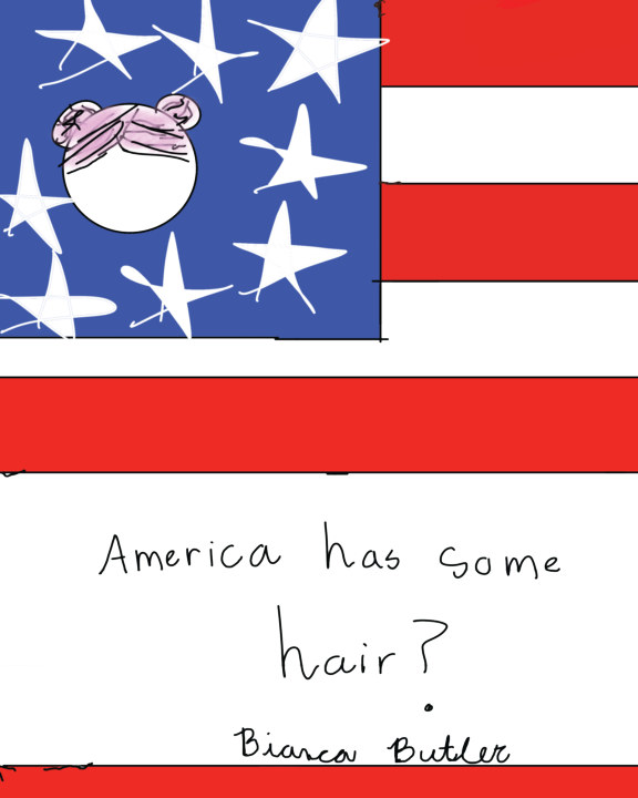 America Has Some Hair?    by Bianca Butler