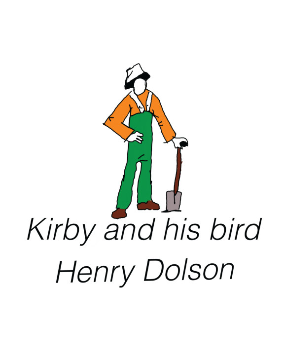 Kirby and His Bird    by Henry Dolson