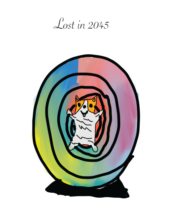 Lost in 2045    by Nathan Price
