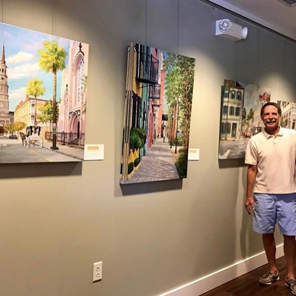 Who is getting excited for our art show this Thursday!? @williamrbeebefineart has beautiful work hung throughout our office and we can't wait to share it with y'all! . . . Details: Thursday 5:30-8, beer, wine, sushi, charcuterie, beautiful art, and all your favorite dental people!