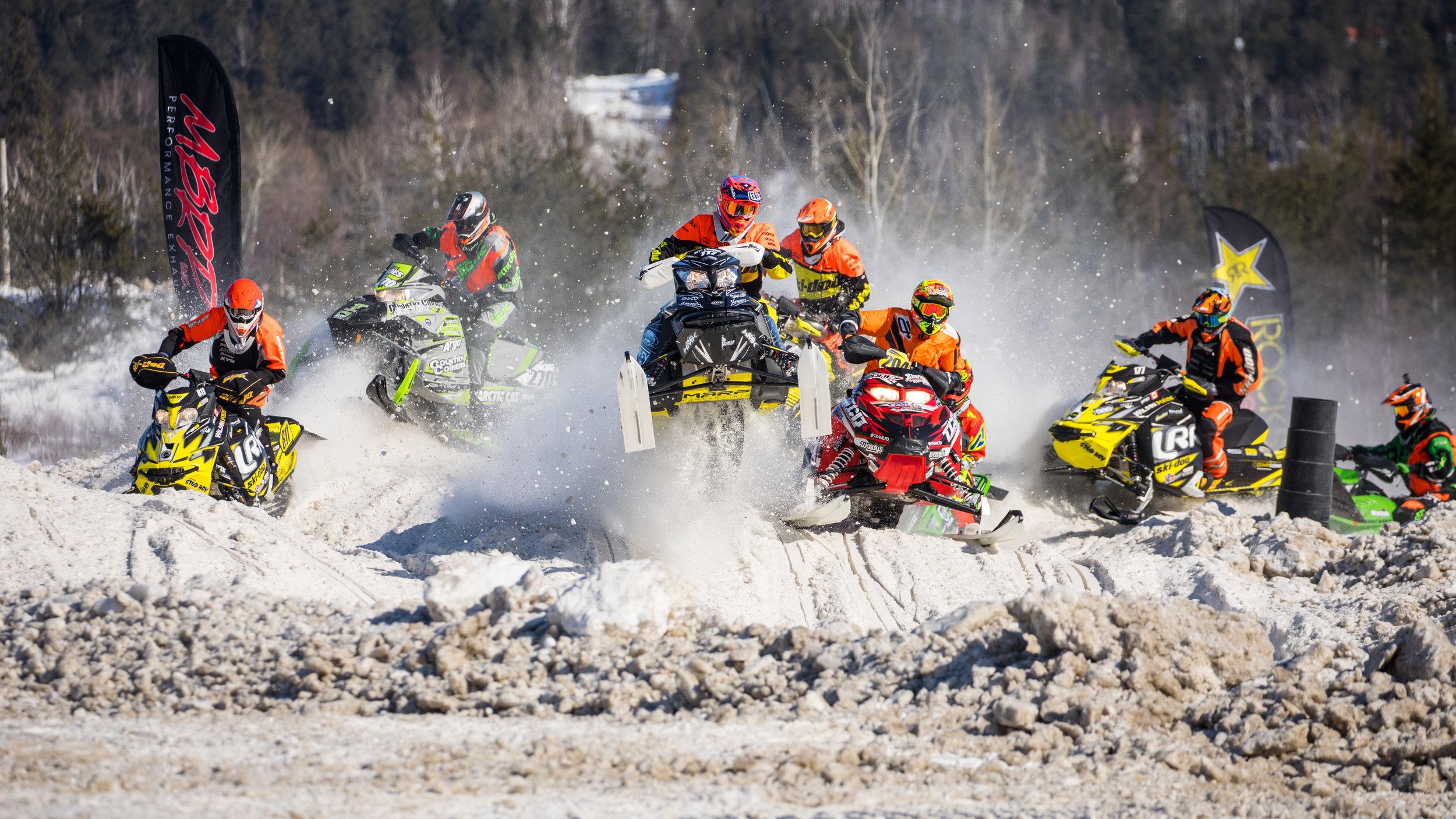 2017 Canadian Snowcross Racing Association Season Photos