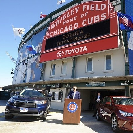 Legacy Partnership between Toyota and the Chicago Cubs/Hickory Street Capital