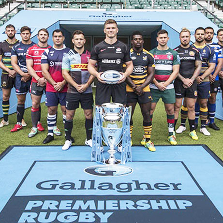 League entitlement partnership between Gallagher and Premiership Rugby League