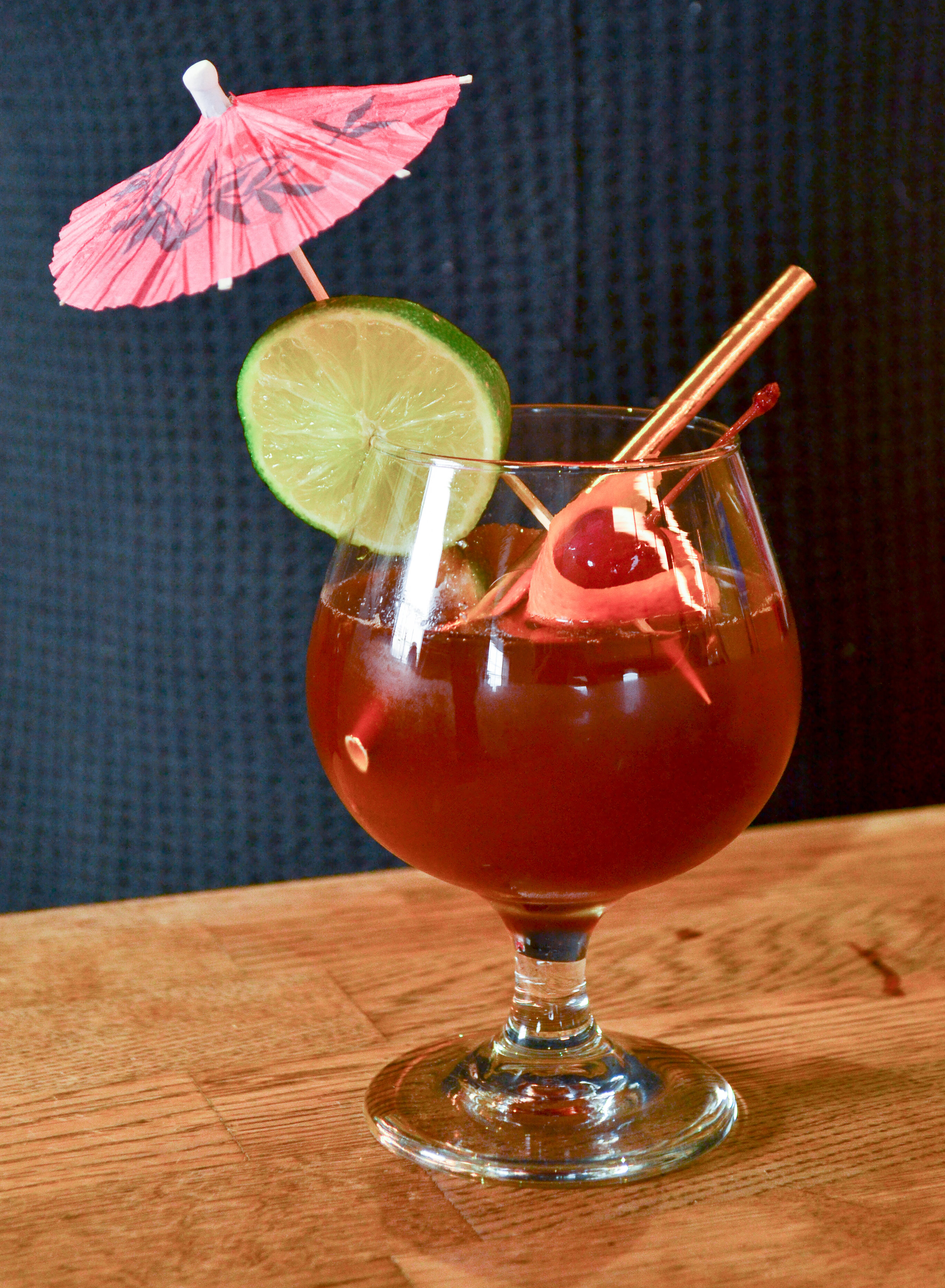 Sangria Inspired Coffee Mixed Drink