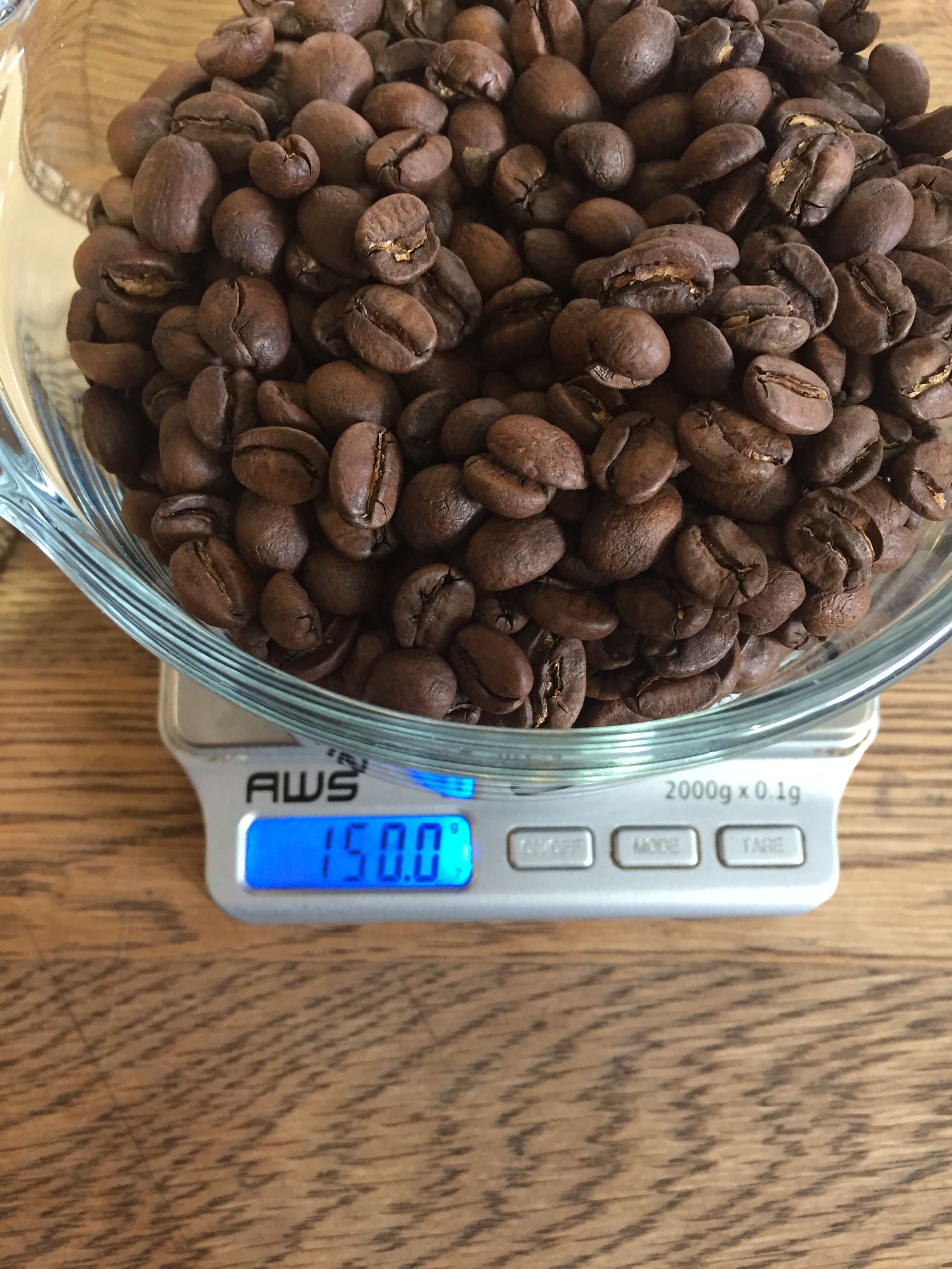 Weigh out the Coffee