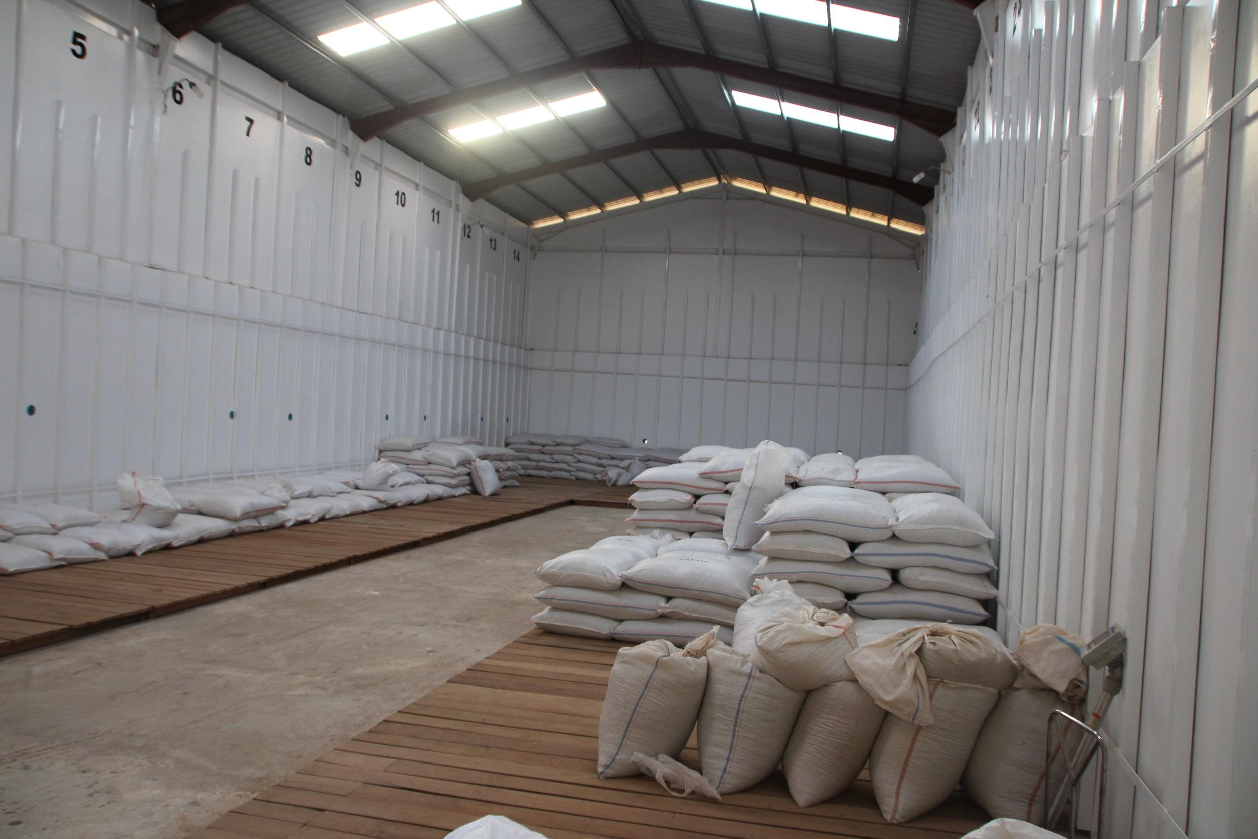 Coffee Storage in Myanmar