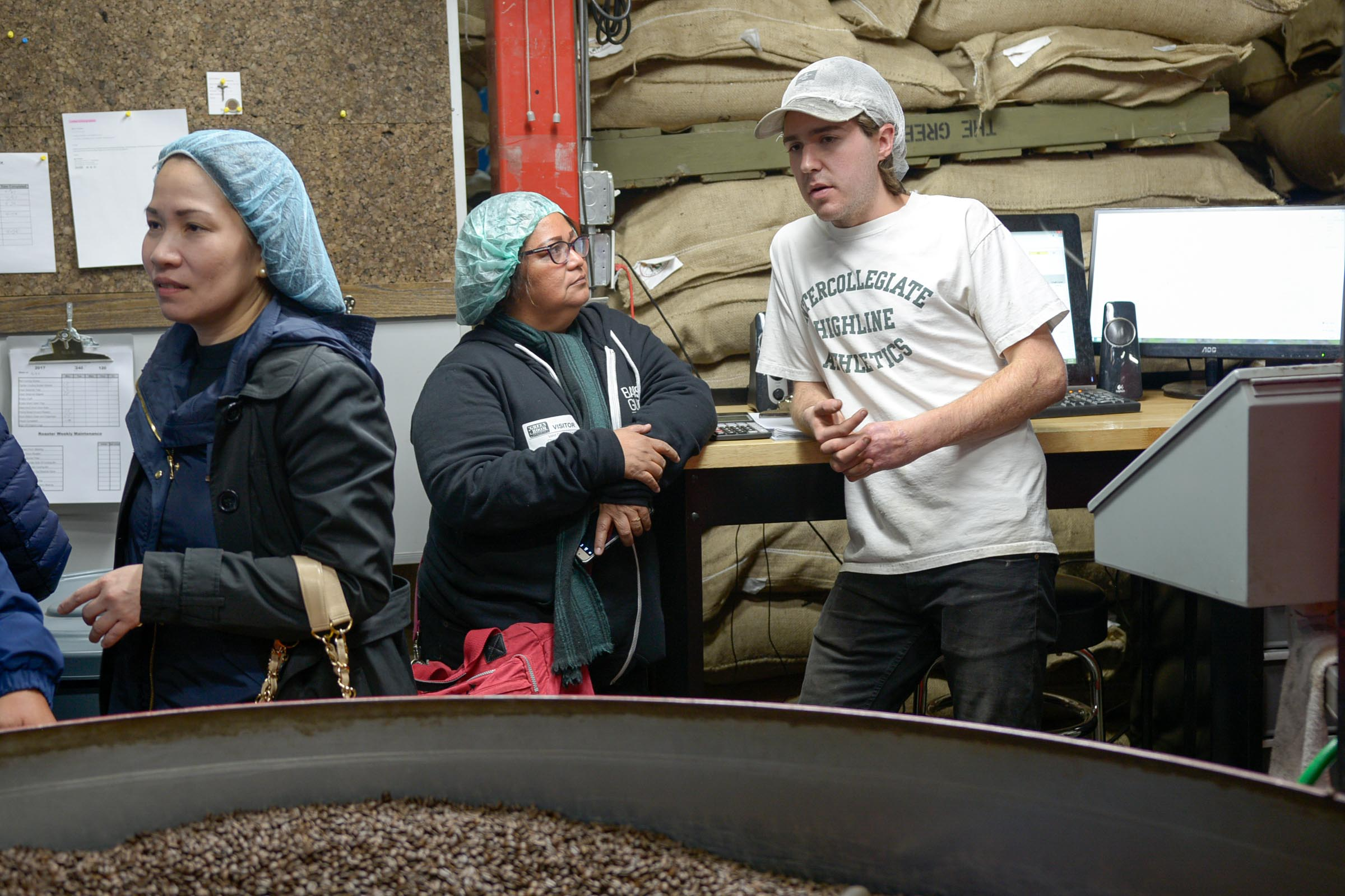 Roaster/Grower Imelda Mendoza discusses Roasting with Dillanos Roaster