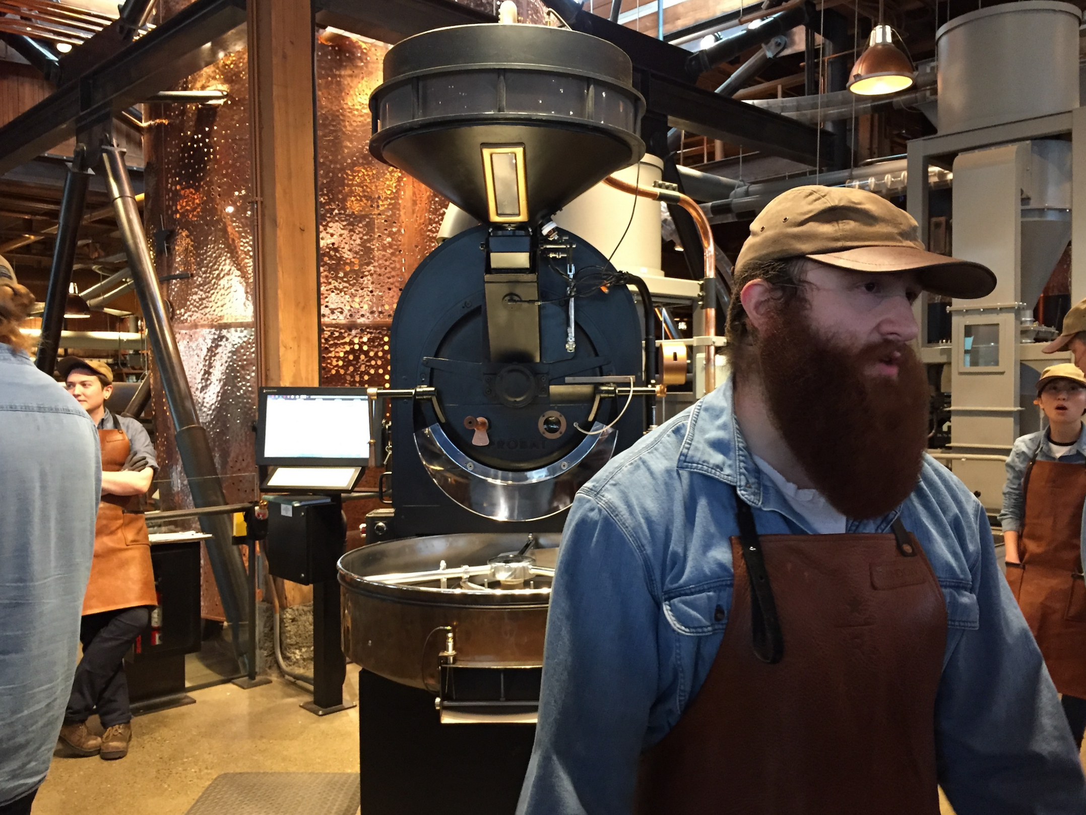 The Tour Begins at Starbucks Reserve Roastery