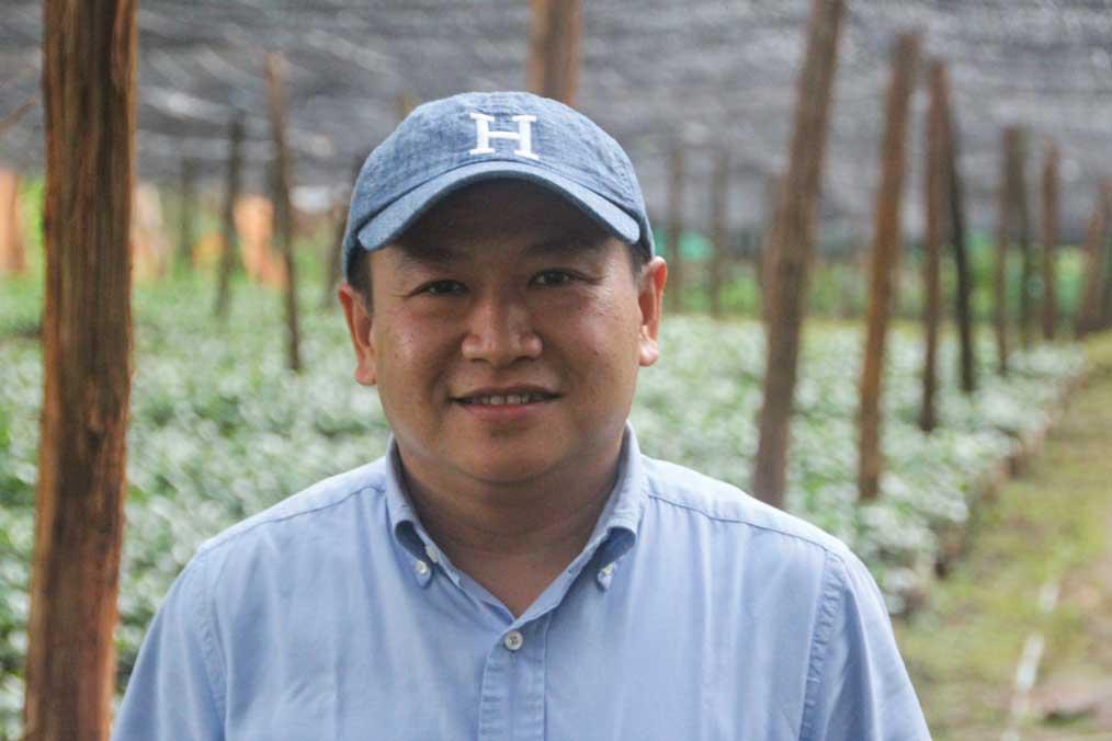Green Land Estate owner Sai Wan Maing.