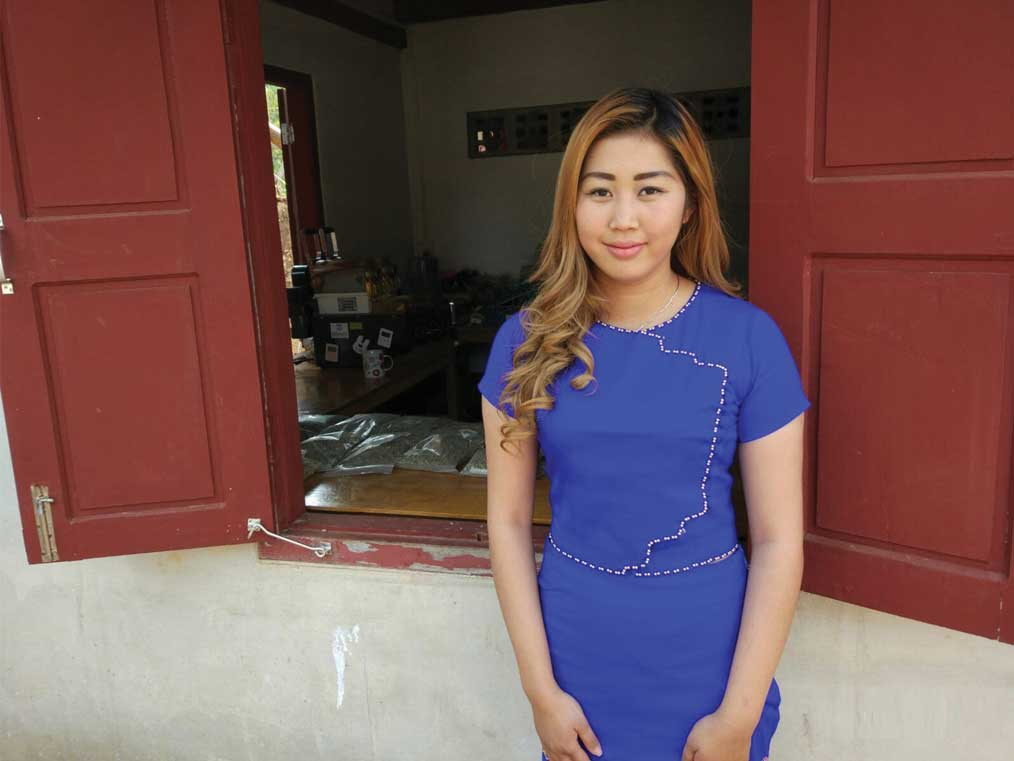 Farmer and Roaster Su Nandar Linn's family owns Shwe Ywar Ngan Coffee. (Photo: courtesy of Su Nandar Linn.)