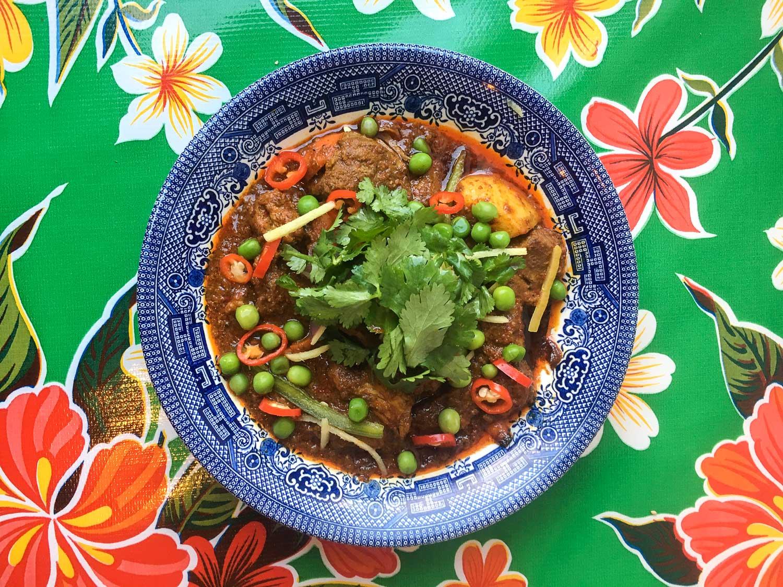 Pork Collar Vindalho  photo courtesy of Fat Rice