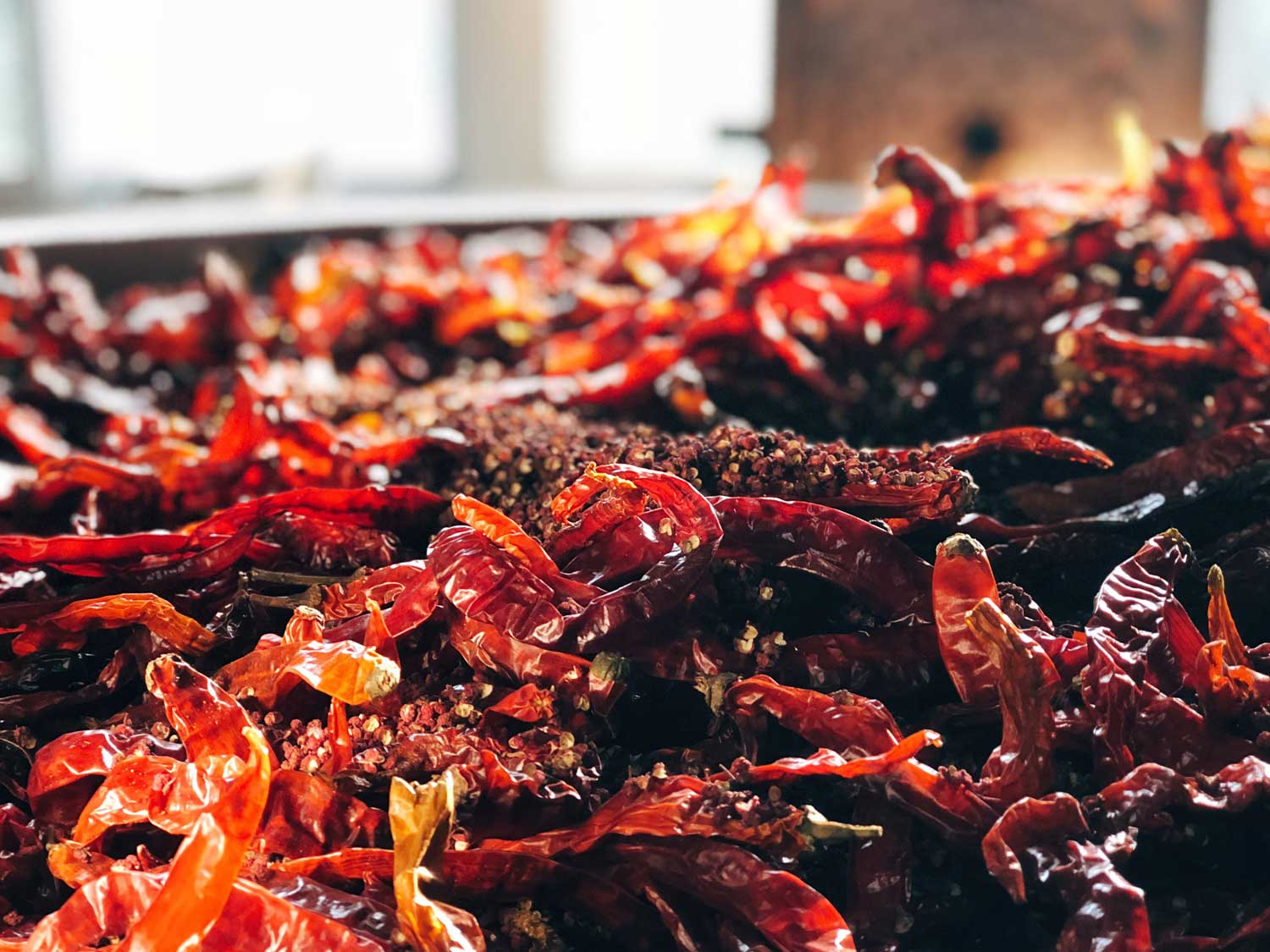 """""""I started making my own chilli sauce from scratch, not just for myself but for the Sichuan dinners I was cooking in my private kitchen in Shanghai and at pop-up dining events all over the world."""""""