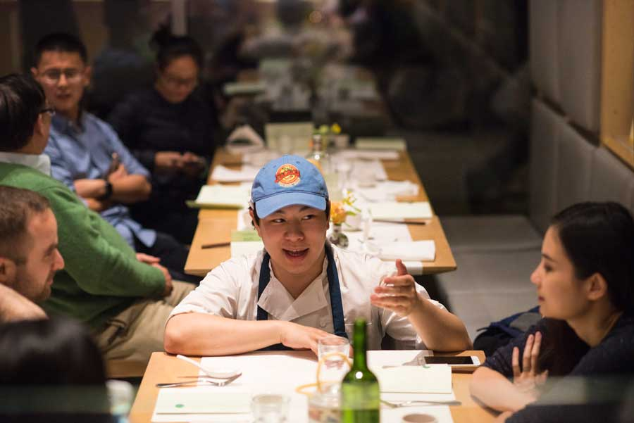 """Lucas Sin: """"At Junzi Kitchen we're challenging people's perception of what Chinese food can be.""""  Junzi Kitchen"""