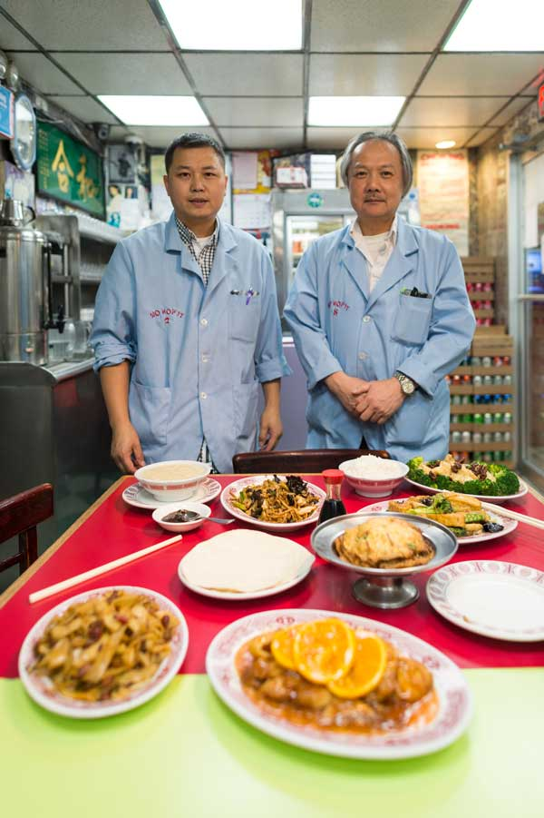 """At """"Chow: Making the Chinese-American Restaurant,"""" MOFAD puts a human face on Chinese-American cuisine.  Daniel Krieger / Museum of Food and Drink"""