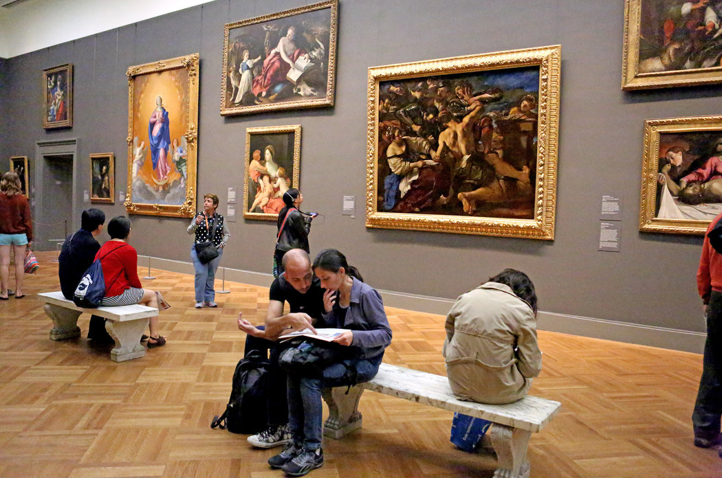 THE MET   20,000 sq. ft. wood flooring in European Gallery
