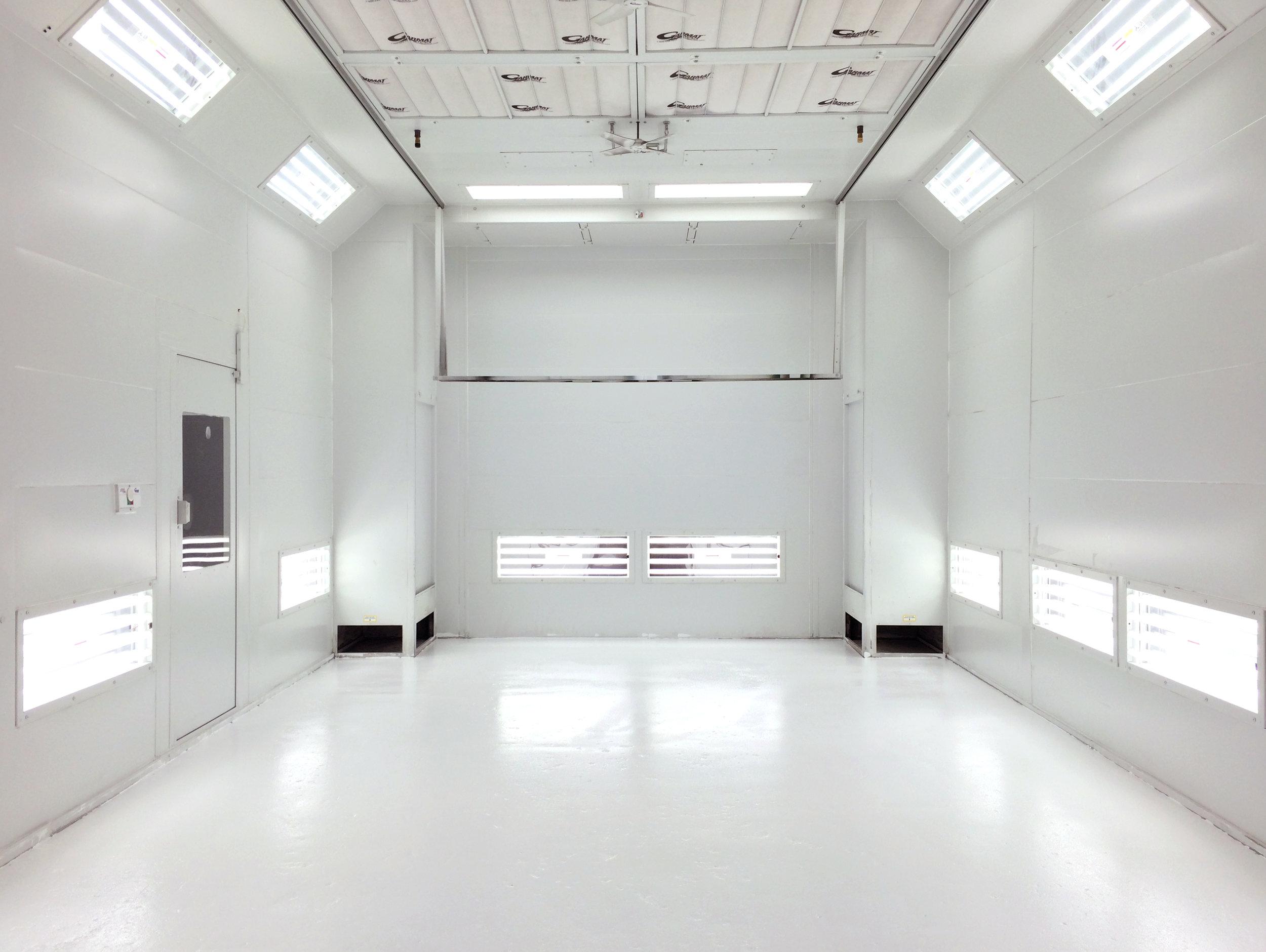 Garmat paint booth