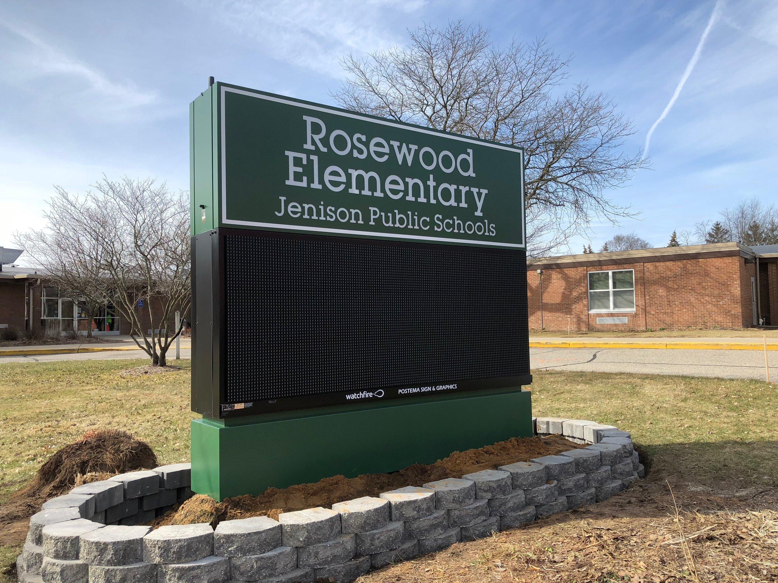 Rosewood Elementary - Jenison Public Schools. 3.30.18 JPG