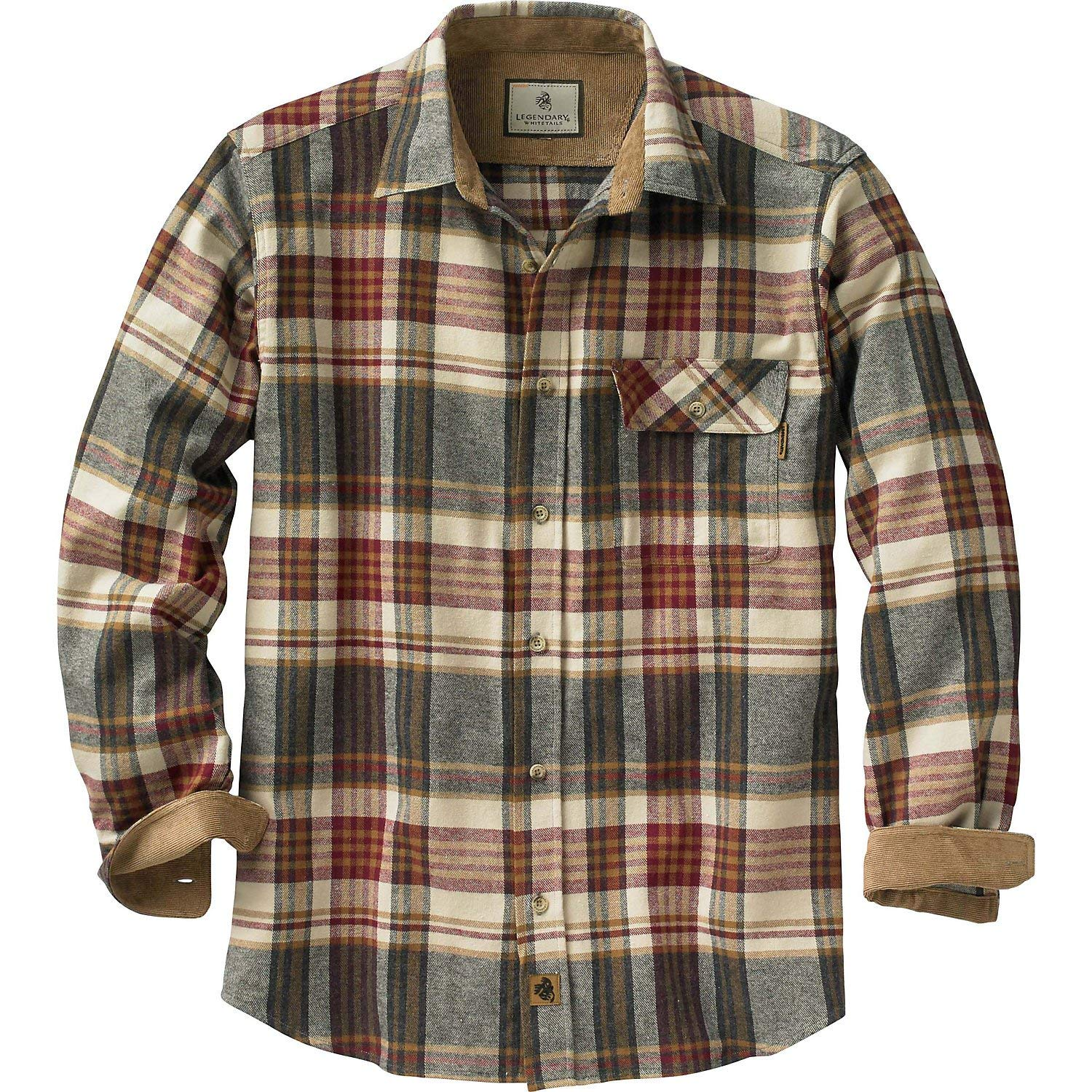 Flannel shirt that looks good + feels good.