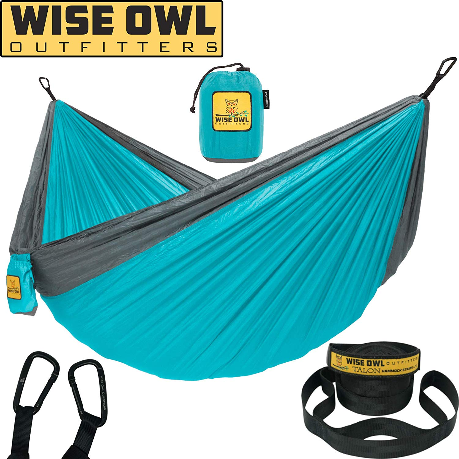 Camping hammock-portable, comfortable, easy to set up!