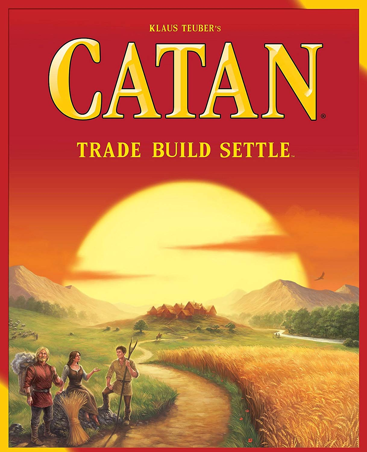 Catan: If he's not already playing this game, then he should be!