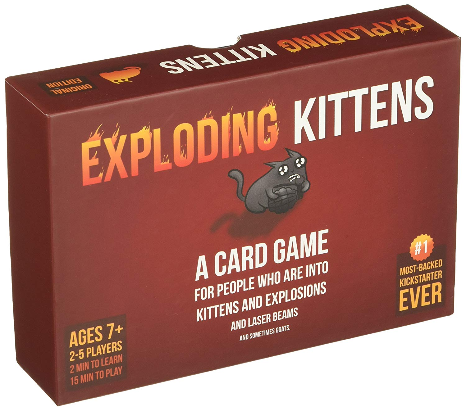 Exploding Kittens: A great game for a group of fun people.