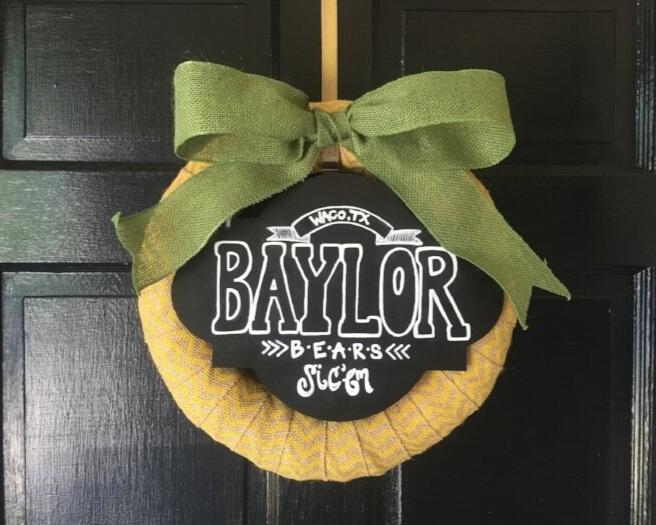 College Foam Wreath