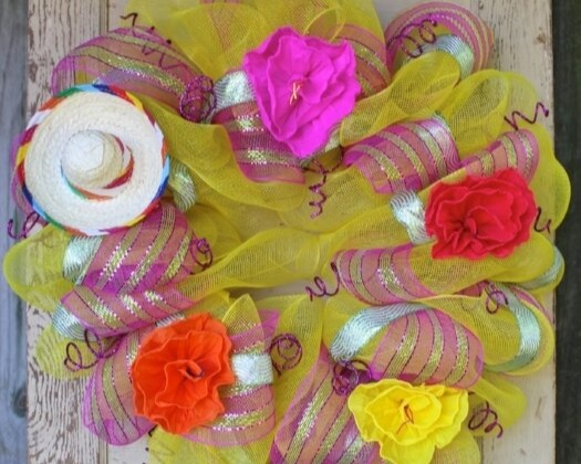 Amarillo Fiesta Wreath