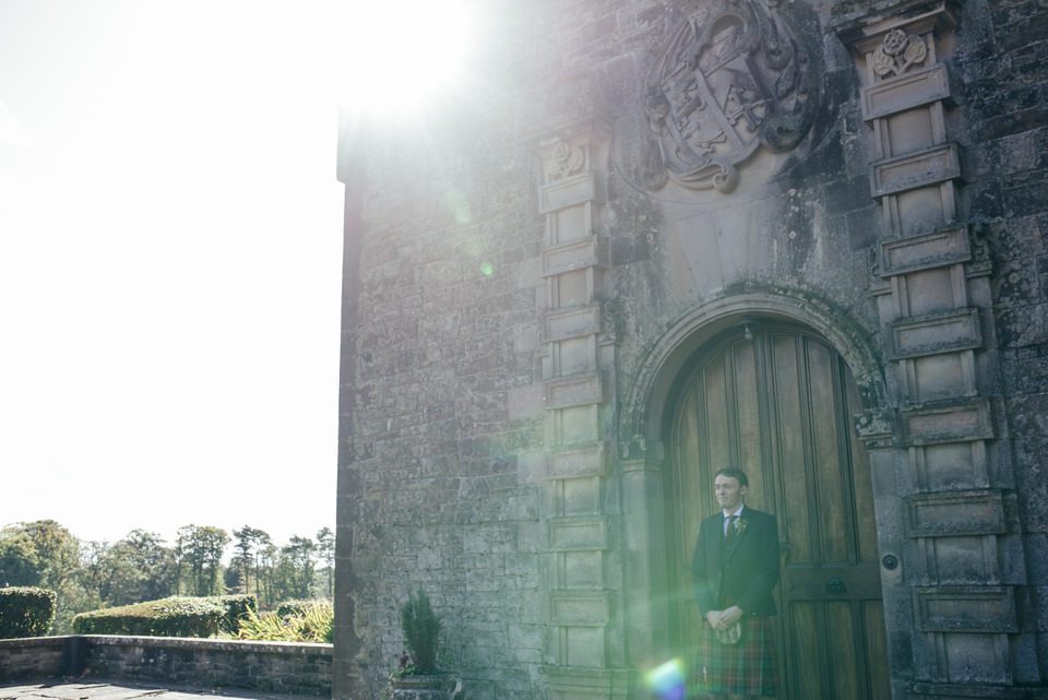 Groom portrait Rowallan Castle