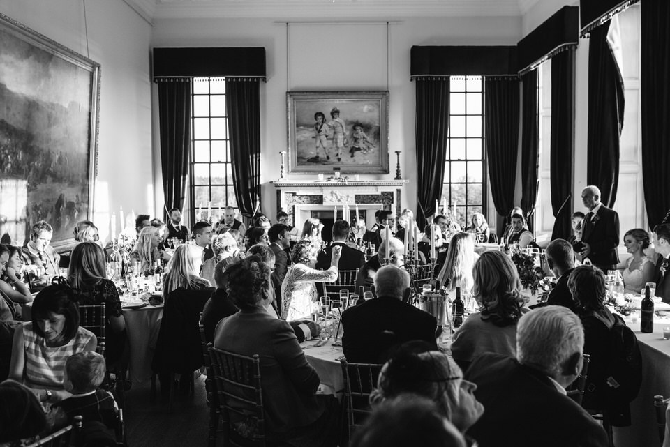 Wedding breakfast Rowallan Castle