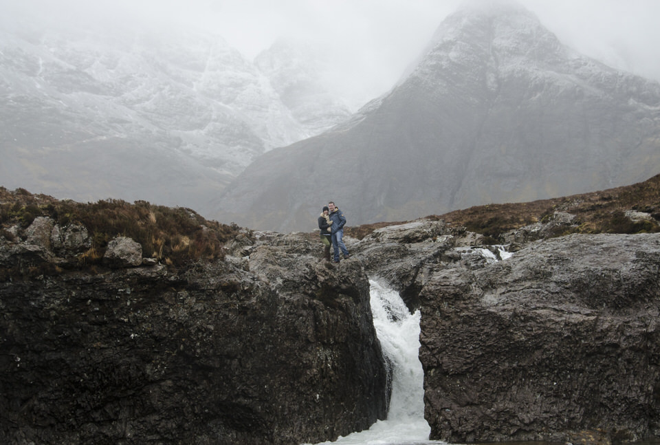 Isle of Skye engagement shoot