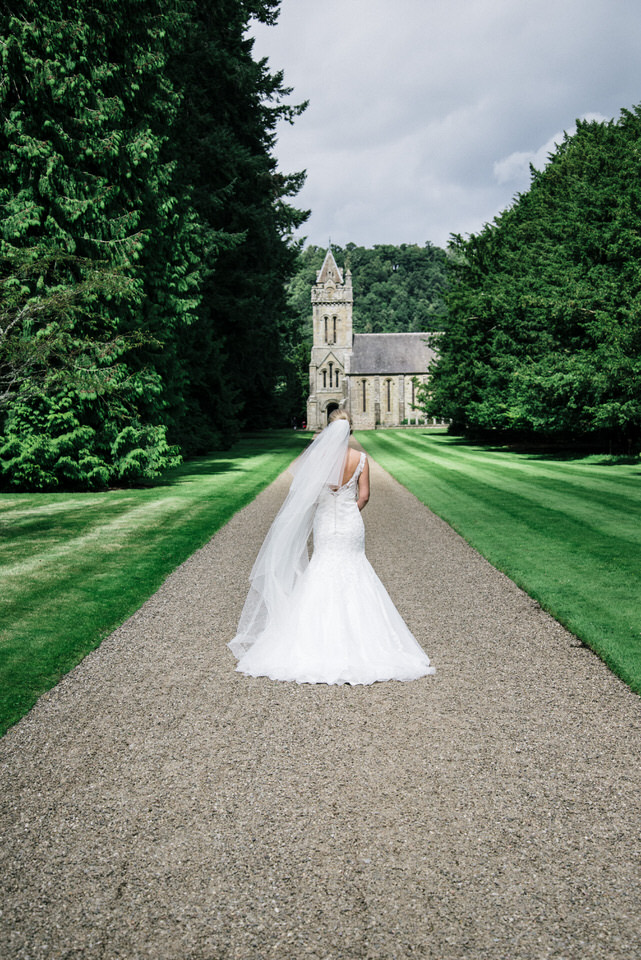 Wedding at Murthly Castle