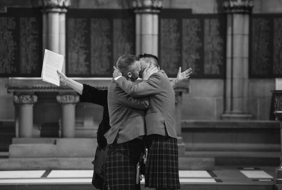 Gay Wedding Ceremony Glasgow University