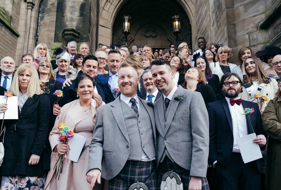 Civil Partnership Wedding Glasgow