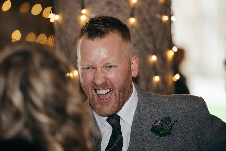 Candid wedding photography Scotland