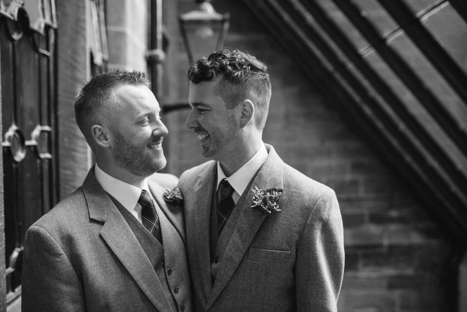 Gay wedding Glasgow