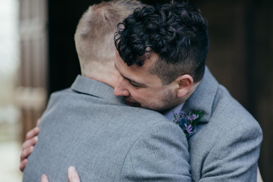 Civil partnership portraits Scotland