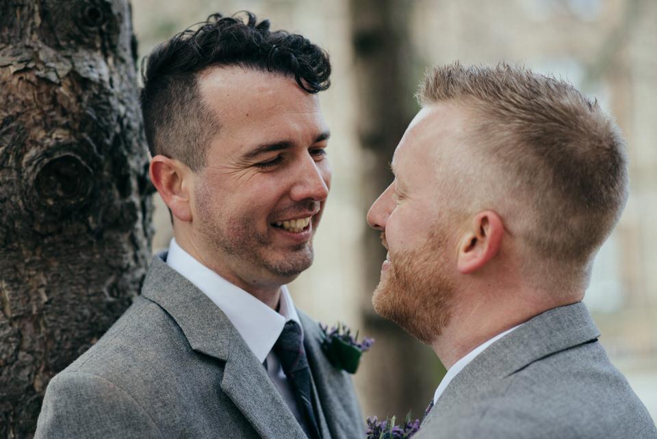 Homosexual wedding Glasgow