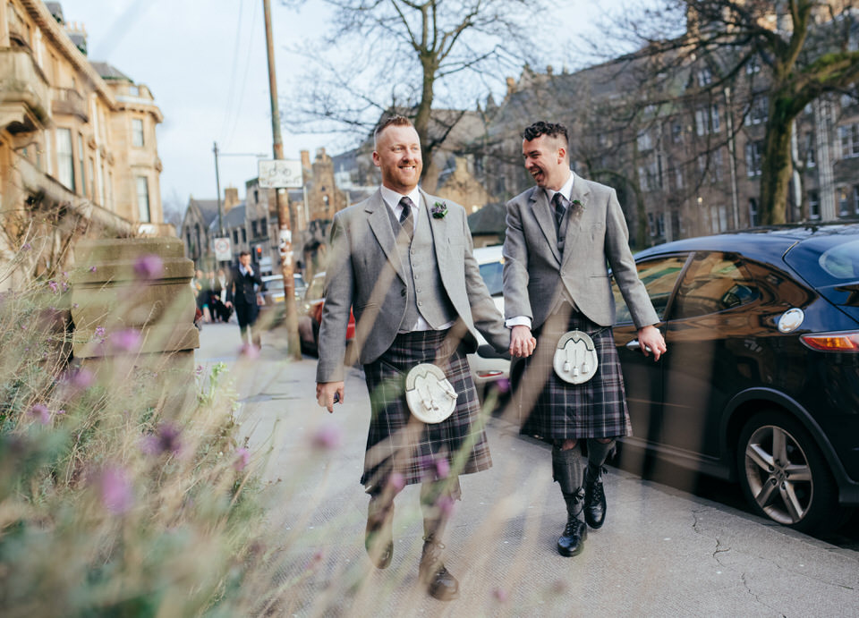 Glasgow West End Gay Wedding