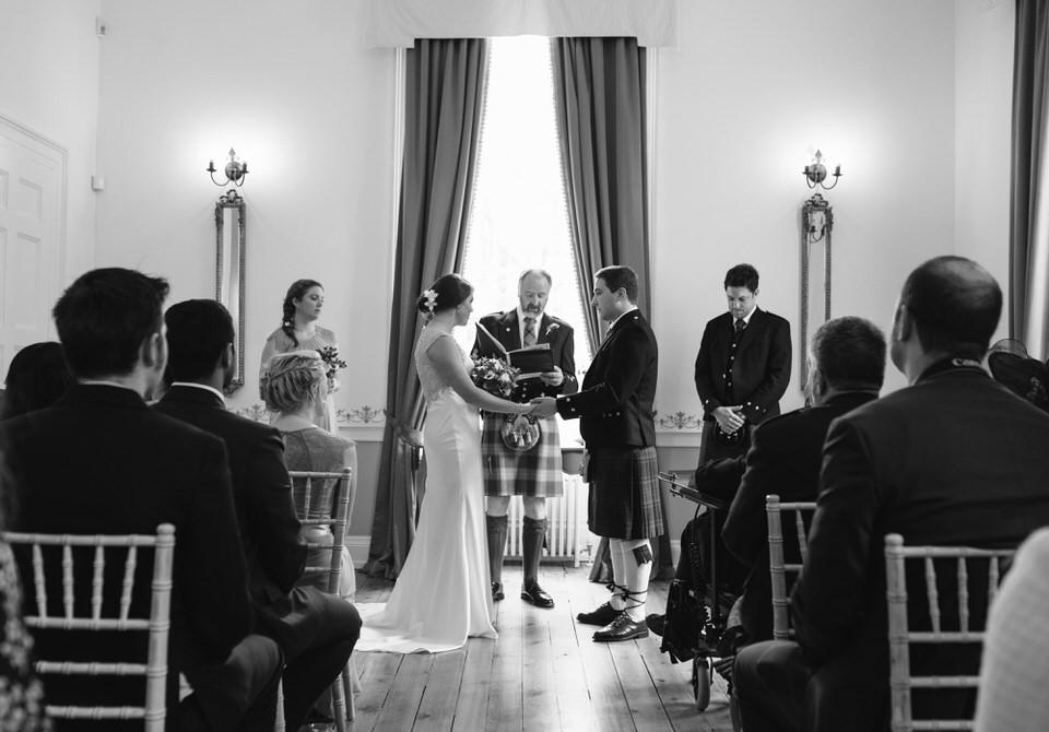 Wedding ceremony Cortes House