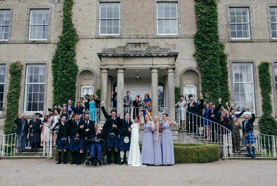 Wedding group shop cortes house