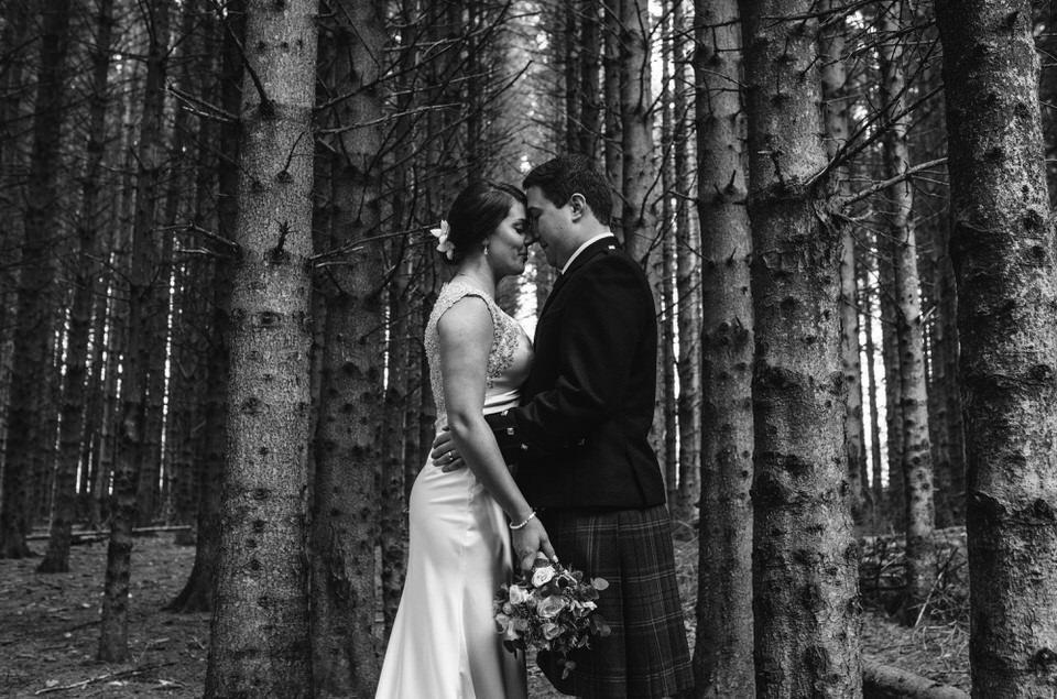Woodland portraits Aberdeenshire