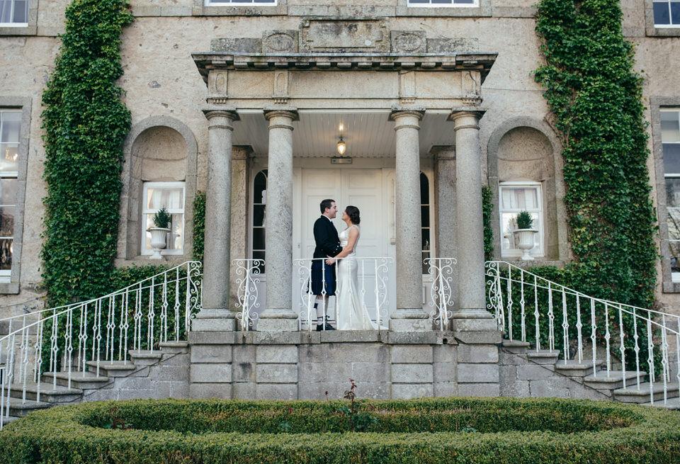 Cortes House Wedding Portraits